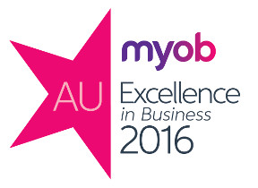 MYOB Excellend in business award 2016