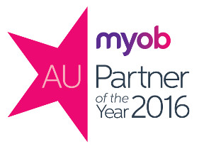 MYOB Partner of the year award for 2016